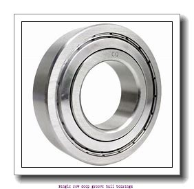 90 mm x 140 mm x 24 mm  NTN 6018P5 Single row deep groove ball bearings