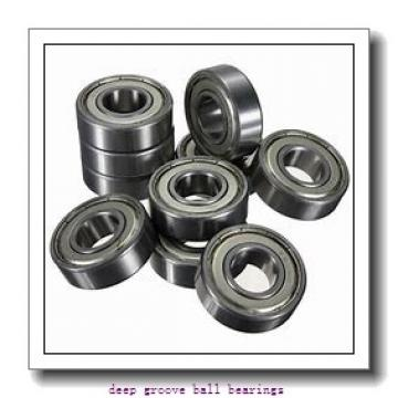 4 mm x 11 mm x 4 mm  skf W 619/4 R-2Z Deep groove ball bearings