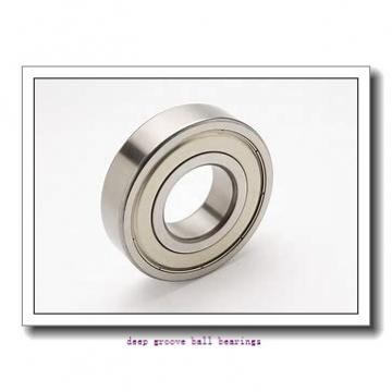 10 mm x 22 mm x 6 mm  skf W 61900-2Z Deep groove ball bearings