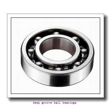 55 mm x 72 mm x 9 mm  skf W 61811-2RZ Deep groove ball bearings