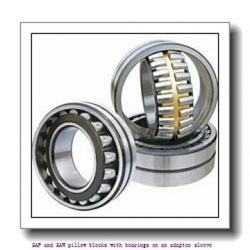 skf SAF 23056 KAT x 10.7/16 SAF and SAW pillow blocks with bearings on an adapter sleeve
