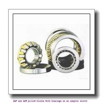 skf FSAF 22615 x 2.1/2 T SAF and SAW pillow blocks with bearings on an adapter sleeve