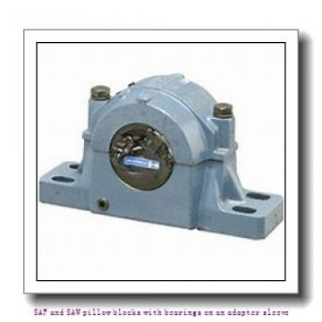 skf SAFS 22520-11 x 3.1/2 SAF and SAW pillow blocks with bearings on an adapter sleeve