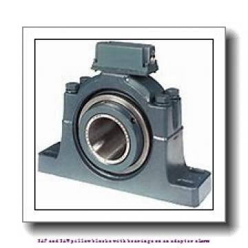 4.438 Inch | 112.725 Millimeter x 8.75 Inch | 222.25 Millimeter x 6.688 Inch | 169.875 Millimeter  skf SAF 22626 SAF and SAW pillow blocks with bearings on an adapter sleeve