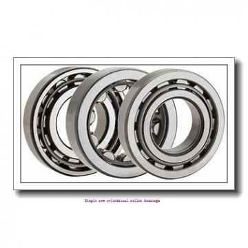 95 mm x 170 mm x 43 mm  NTN NU2219C3 Single row cylindrical roller bearings