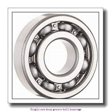 100 mm x 150 mm x 24 mm  NTN 6020LLB/2AS Single row deep groove ball bearings
