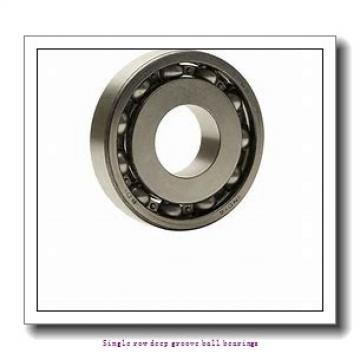80 mm x 125 mm x 22 mm  NTN 6016ZC4 Single row deep groove ball bearings