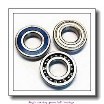 95 mm x 145 mm x 24 mm  NTN 6019 Single row deep groove ball bearings