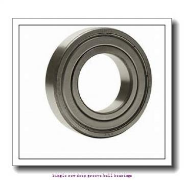 90 mm x 140 mm x 24 mm  NTN 6018ZZ/2AS Single row deep groove ball bearings