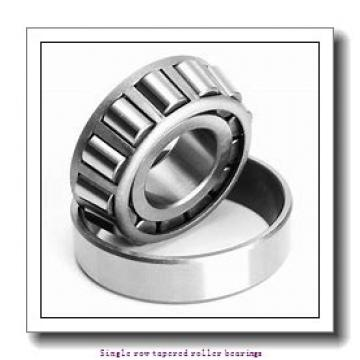 90 mm x 160 mm x 55,1 mm  NTN 4T-6581X/6525X Single row tapered roller bearings