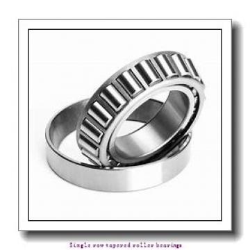 25.4 mm x 50.292 mm x 14.732 mm  skf L 44643/610 Single row tapered roller bearings
