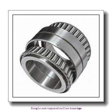 45 mm x 95 mm x 35 mm  skf T2ED 045 Single row tapered roller bearings
