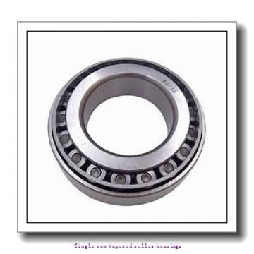 59,972 mm x 122,238 mm x 31,75 mm  NTN 4T-66589/66520 Single row tapered roller bearings