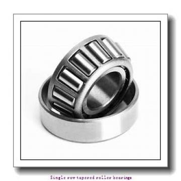 57,15 mm x 117,475 mm x 31,75 mm  NTN 4T-66225/66462 Single row tapered roller bearings