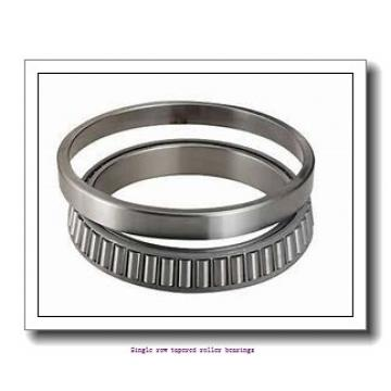 55 mm x 115 mm x 31 mm  skf T7FC 055 Single row tapered roller bearings