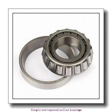 55 mm x 110 mm x 39 mm  skf T2ED 055 Single row tapered roller bearings