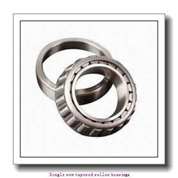 50 mm x 105 mm x 29 mm  skf T7FC 050 Single row tapered roller bearings
