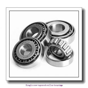 44.45 mm x 107.95 mm x 36.957 mm  skf 535/532 X Single row tapered roller bearings