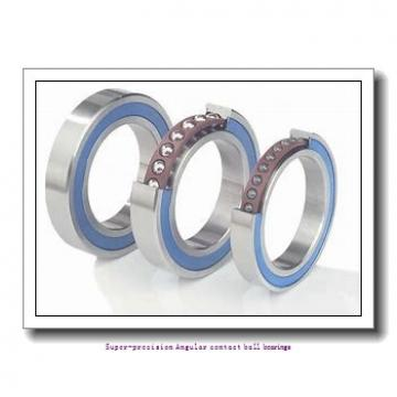 10 mm x 22 mm x 6 mm  skf 71900 CE/P4A Super-precision Angular contact ball bearings