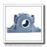 skf SAF 1618 x 3.1/16 T SAF and SAW pillow blocks with bearings on an adapter sleeve