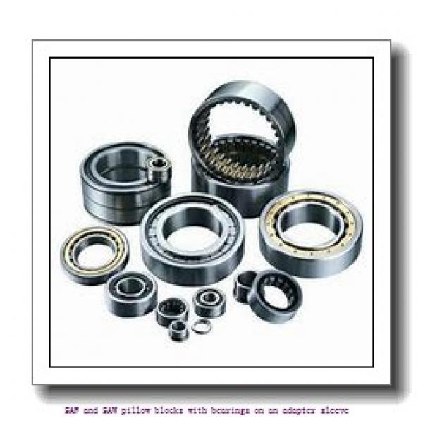 skf SAF 23026 KAT x 4.1/2 SAF and SAW pillow blocks with bearings on an adapter sleeve #1 image
